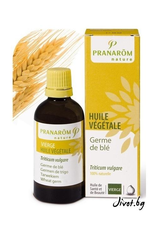 Растително масло Pranarom Пшеничен зародиш