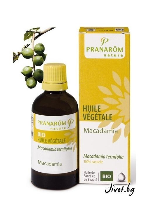 Растително масло Pranarom Макадамия