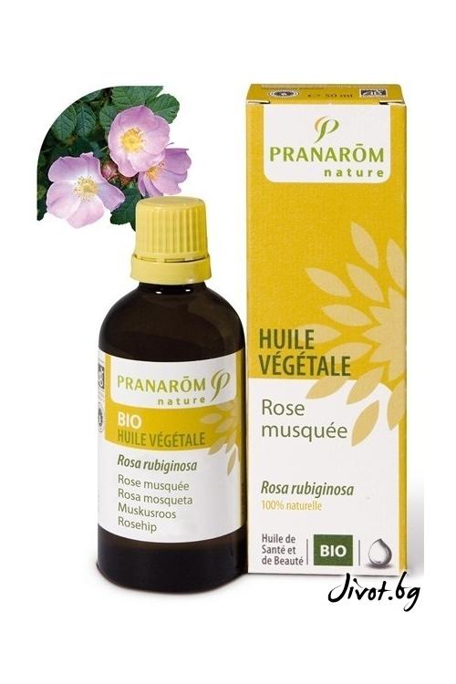 Растително масло Pranarom Шипка/Чилийска роза