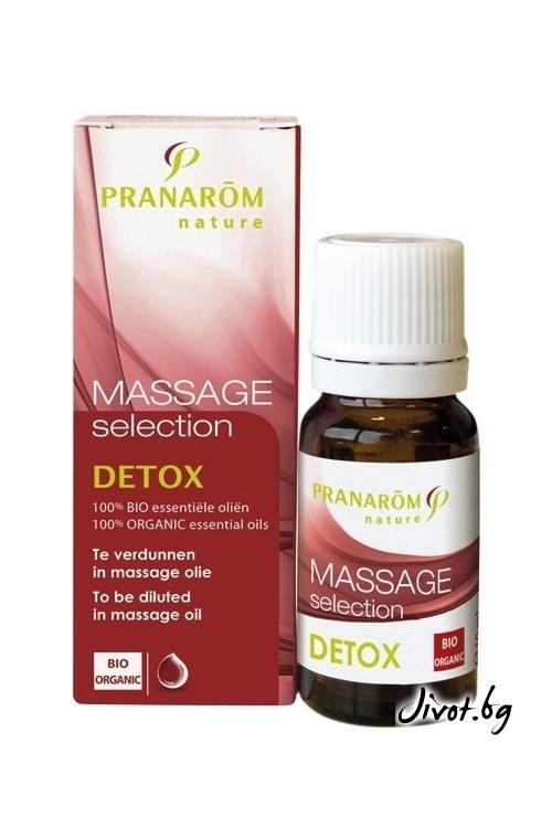 Комбинация за масаж Пранаром Detox