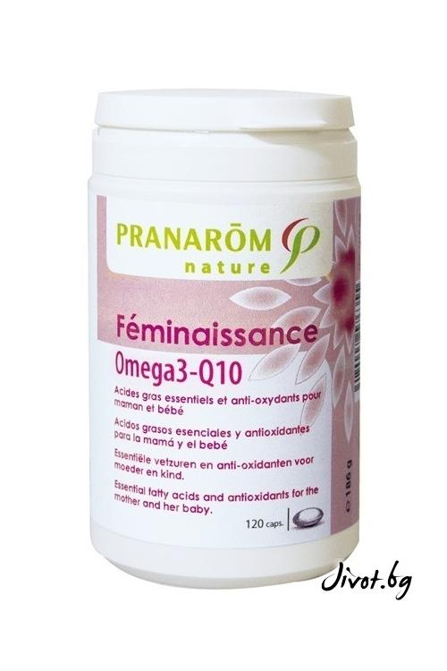 Капсули Пранаром за бременни и кърмещи майки Omega3-Q10