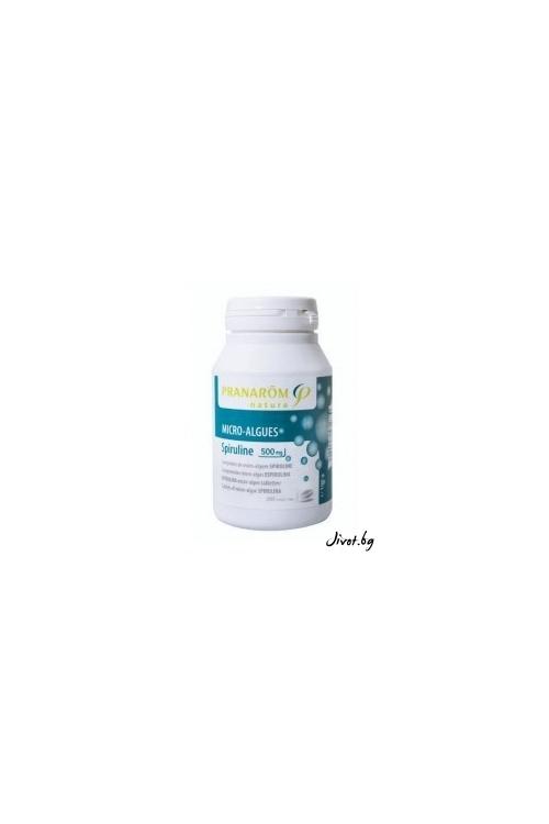 Имуномодулираща хранителна добавка с микроводорасли СПИРУЛИНА / Pranarom