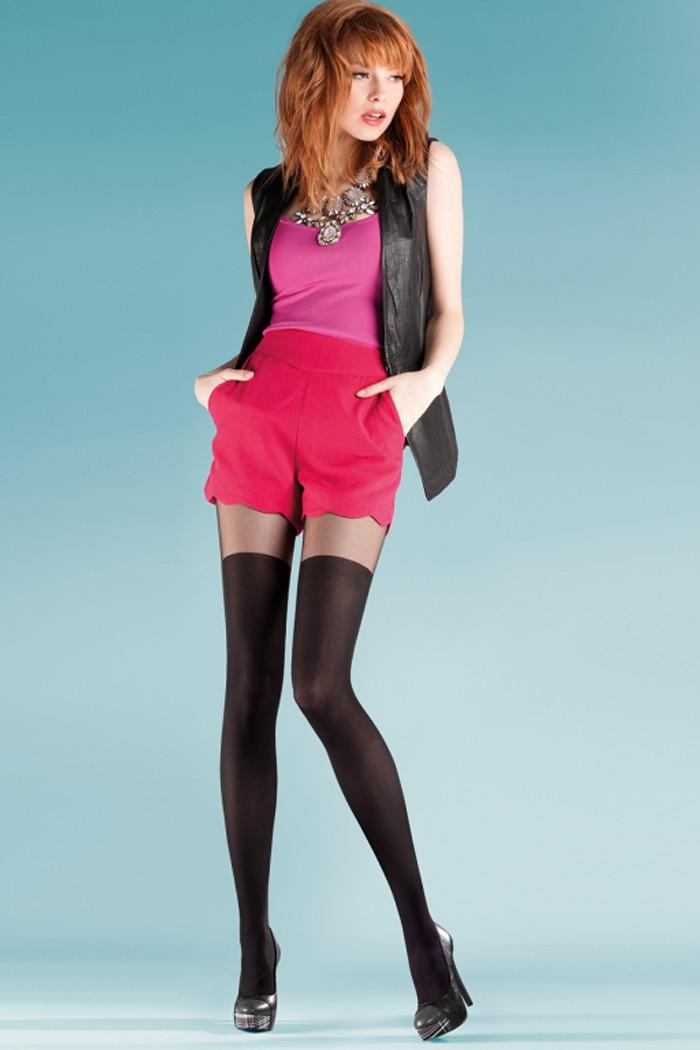Дамски фигурален чорапогащник Gabriella / PATY