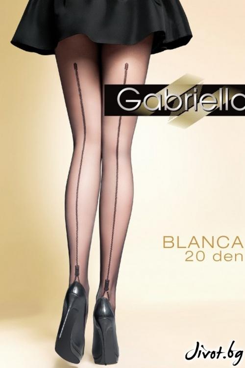 Дамски фигурален чорапогащник Gabriella / BLANCA / 310