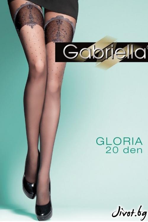 Дамски фигурален чорапогащник Gabriella / GLORIA / 312