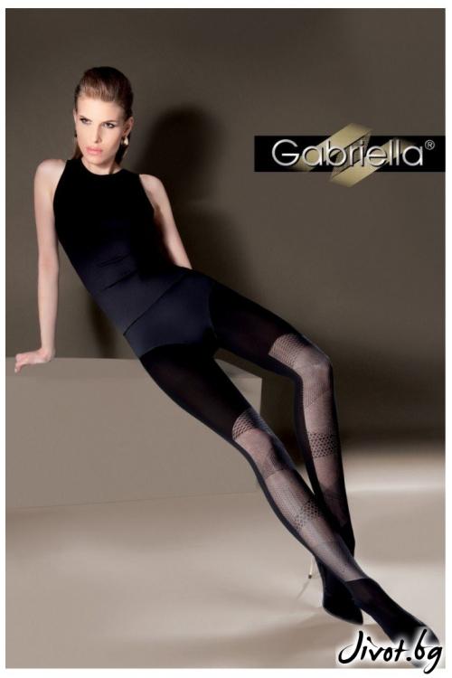 Фигурален дамски чорапогащник Gabriella / ROBIN