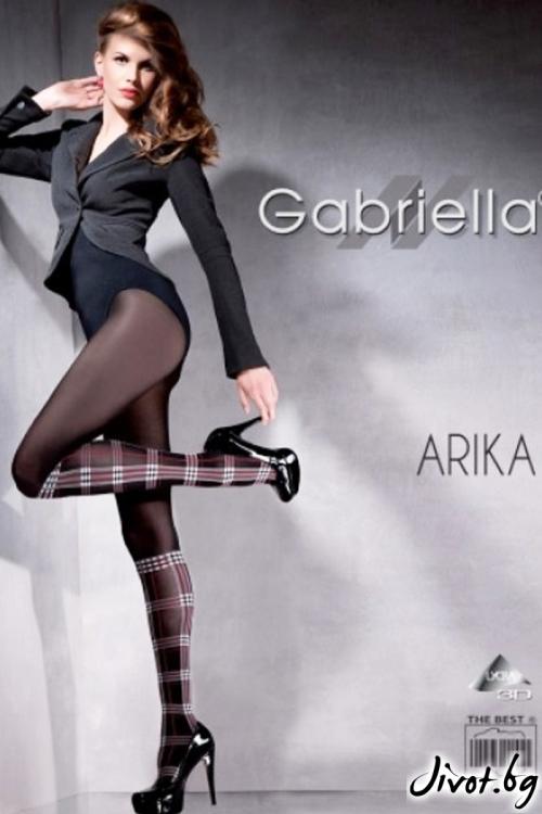 Фигурални Плътни Чорапогащи Gabriella / ARIKA / 488