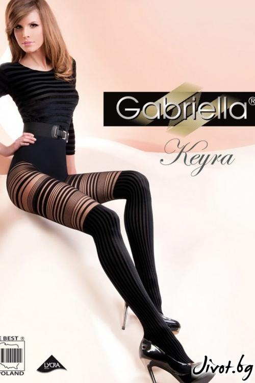 Дамски фигурален чорапогащник Gabriella / KEYRA / 252