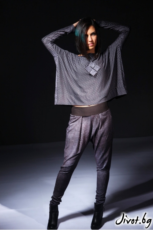 Дамски панталон със свободна кройка / Модна къща АМБИЦИЯ