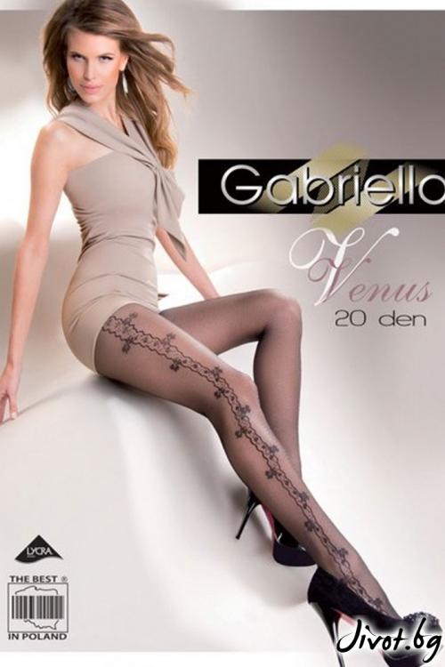 Фигурални Дамски Чорапогащи Gabriella / VENUS