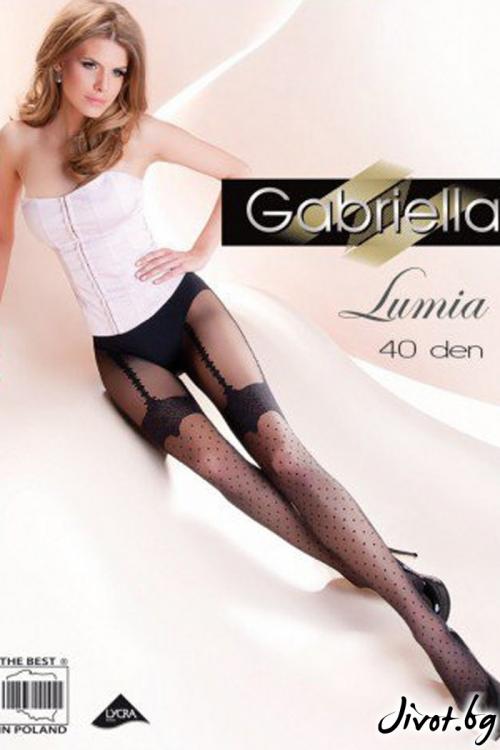 Фигурални Дамски Чорапогащи Gabriella / LUMIA / 262