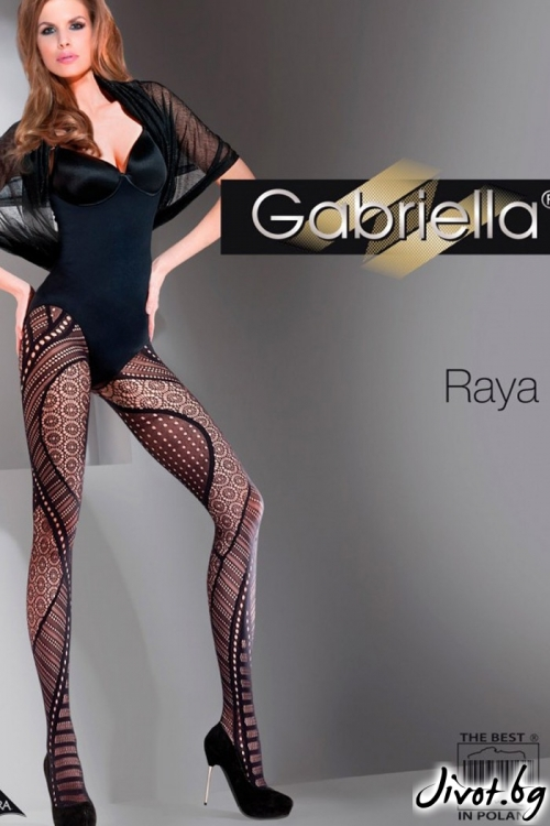 Мрежест фигурален дамски чорапогащник Gabriella / RAYA