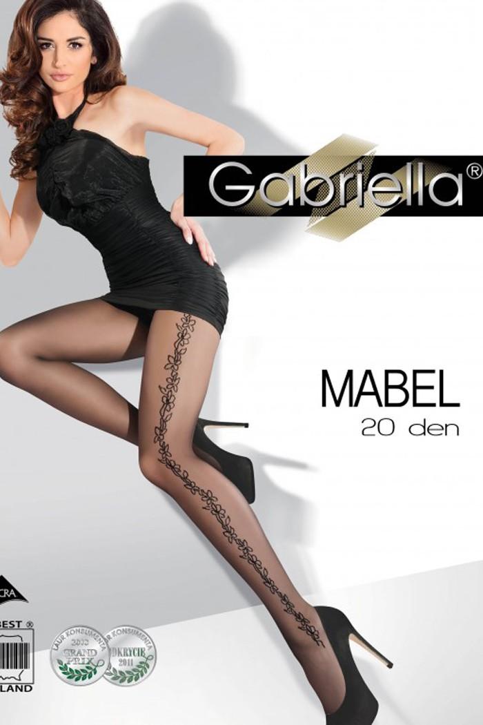 Фин чорапогащник с плетеница 20 DEN Gabriella / MABEL / 342