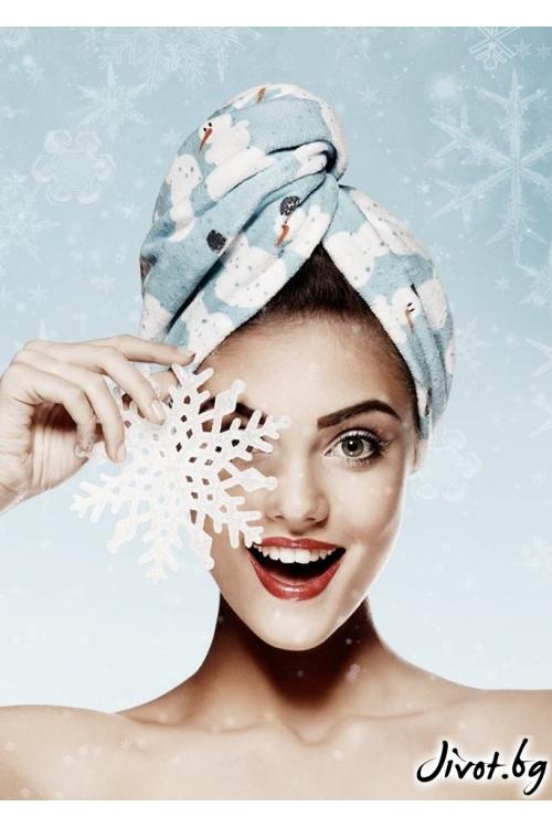Aglique SNOWMAN / Кърпи за коса