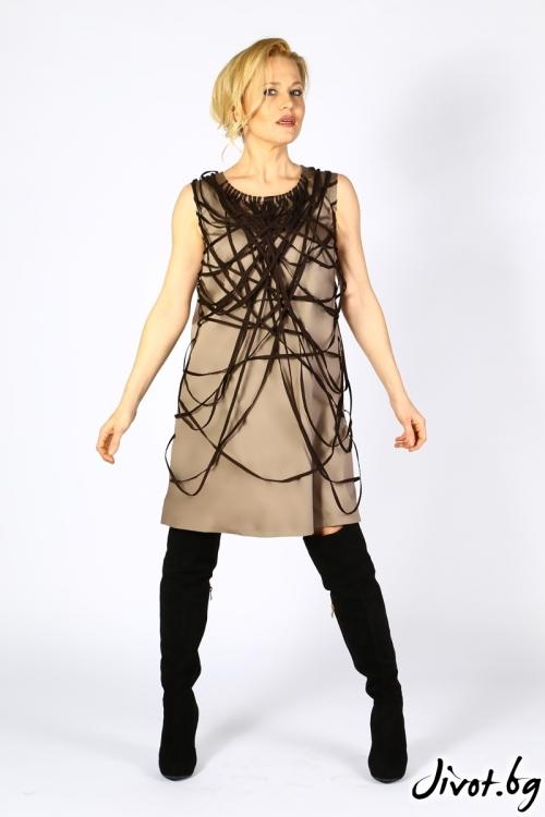 Ефектна къса дамска рокля / Polina Petrova