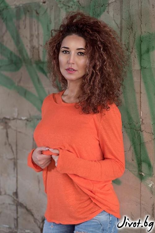Дамски комплект блуза с топ / GUGOSHEVA