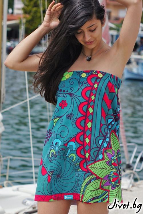 Дамска плажна рокля / BUNGA