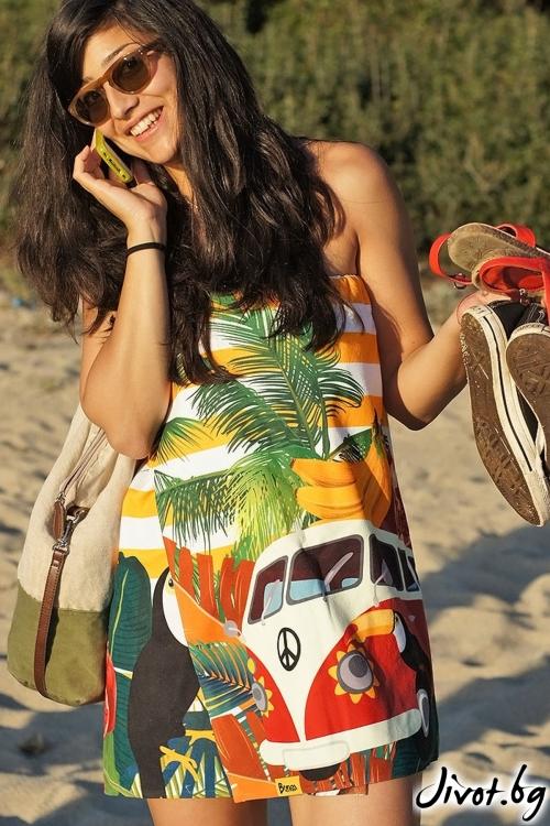 Плажна дамска рокля ALOHA