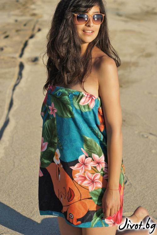 Hawaiian girls плажна рокля, кърпа и парео в едно