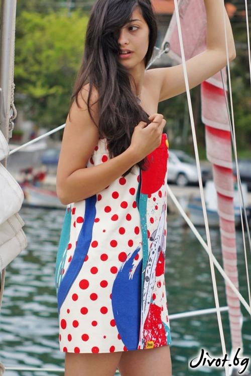 Парео, плажна рокля и кърпа в едно FISHES