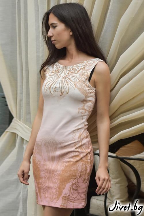 """Къса дамска рокля """"Ангели"""" / DAIA"""