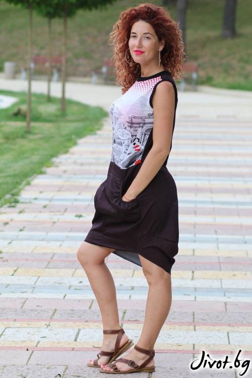 Дамска рокля / GUGOSHEVA