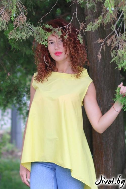 Жълта туника / GUGOSHEVA