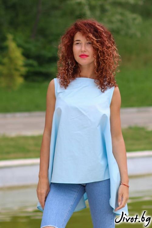 Синя туника / GUGOSHEVA