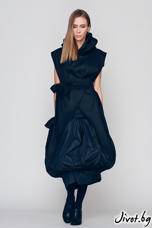 Черно дамско сако MARIA QUEEN MARIA