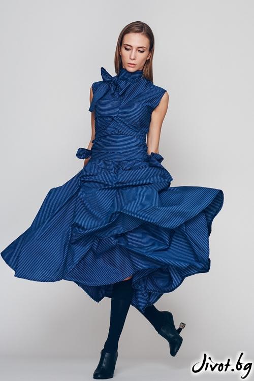 "Дамска рокля ""Приказка"" - Maria Queen Maria"