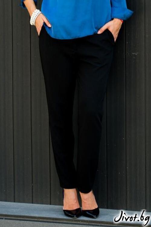 Черен панталон / Melina Fashion