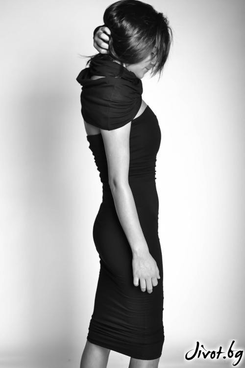 Черна къса рокля / EXPERIMENT