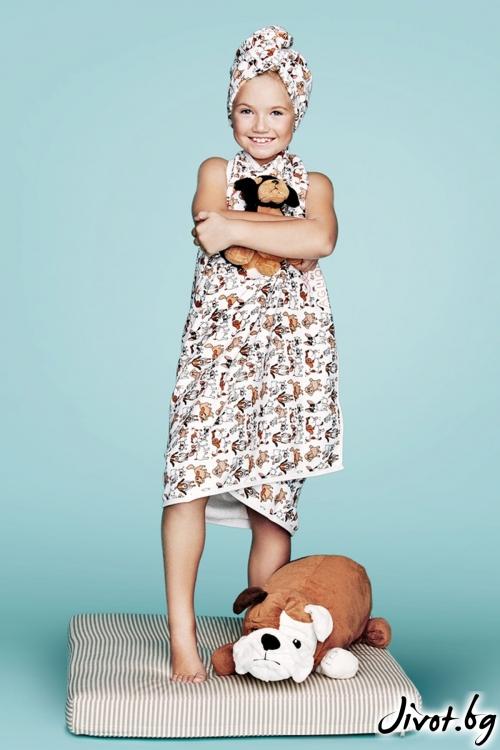 Детска кърпа за тяло AMICI TOWEL / AGLIQUE