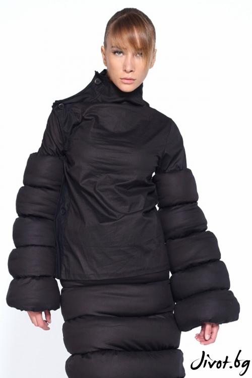 Впечатляващо черно сако / Maria Queen Maria
