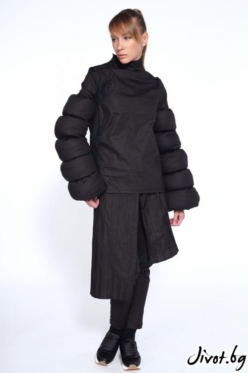 Черен пола-панталон / Maria Queen Maria