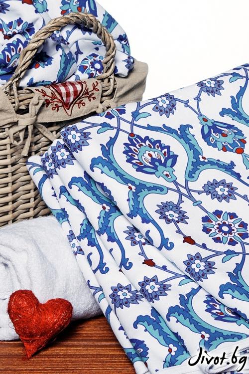 Хавлиена кърпа TURQUOISE TOWEL / AGLIQUE