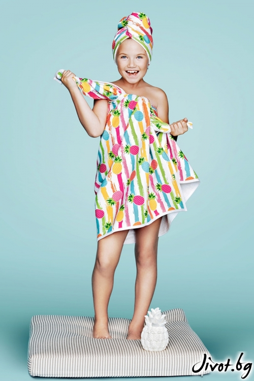 Детска хавлиена кърпа за тяло DOLCE TOWEL / AGLIQUE