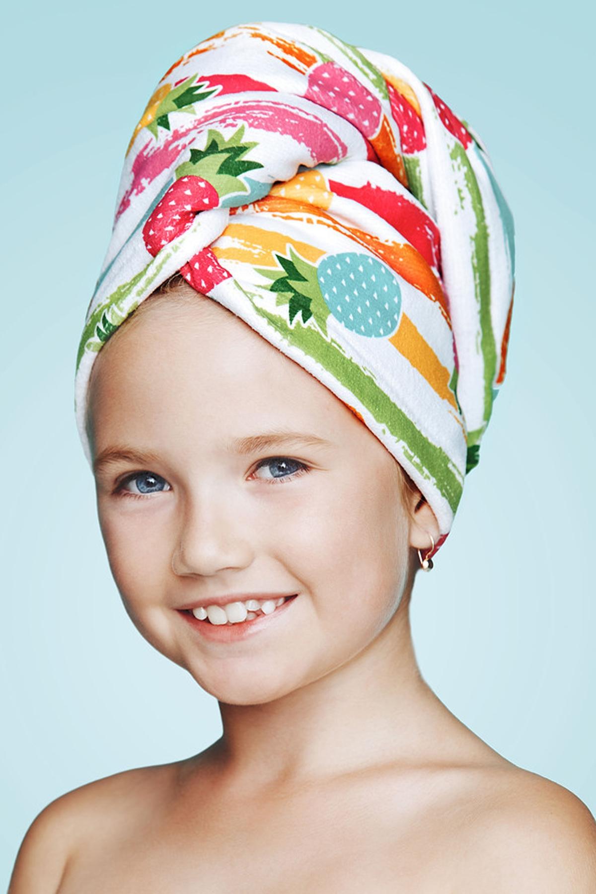 Детска хавлия за коса