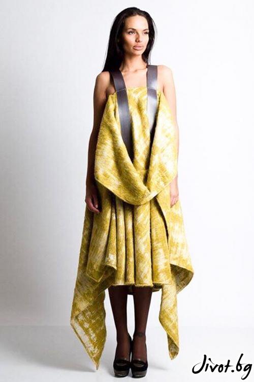 """Дълга рокля от вълна """"New in town"""" / MagdalenaAlex"""