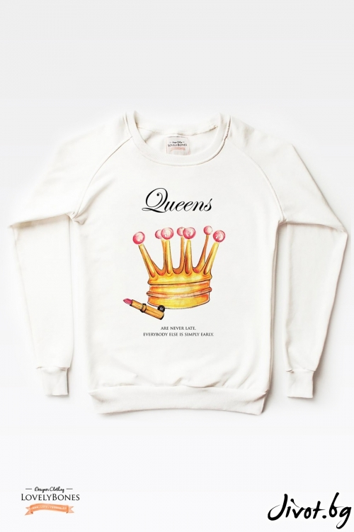 Дамски суичър / LovelyBones Clothing