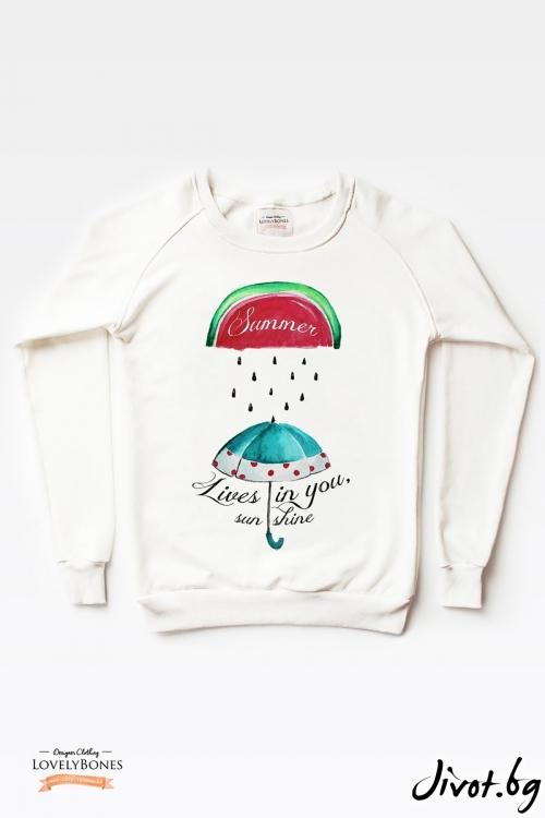 Дамски суичър / LovelyBones Clothing