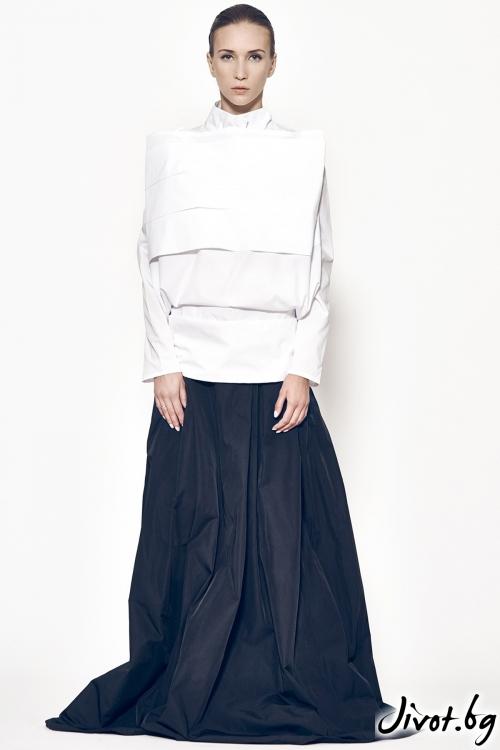 Бяла дамска риза MARIA QUEEN MARIA