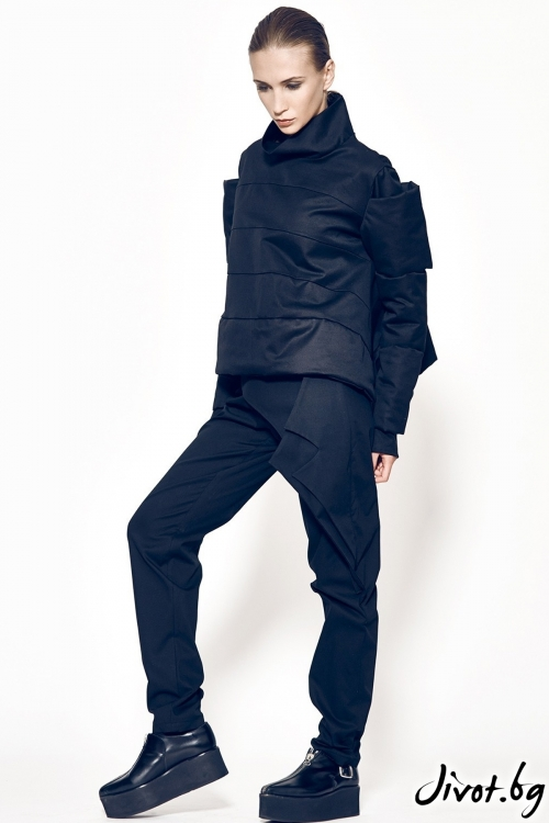 Дамско палто/ сако в черно MARIA QUEEN MARIA