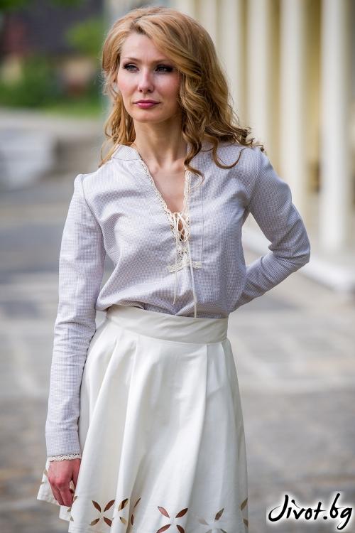 Дамска блуза с етно мотиви / Fenica and Julia