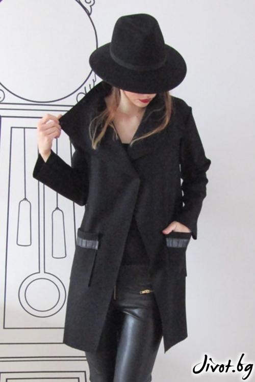 Екстравагантно палто от кашмир / FABRA MODA STUDIO
