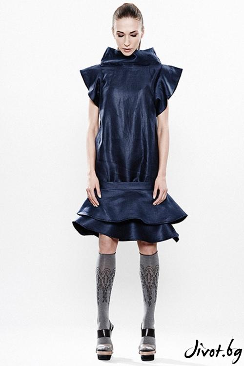 Деконструктивна рокля за лятото и пролетта / Maria Queen Maria