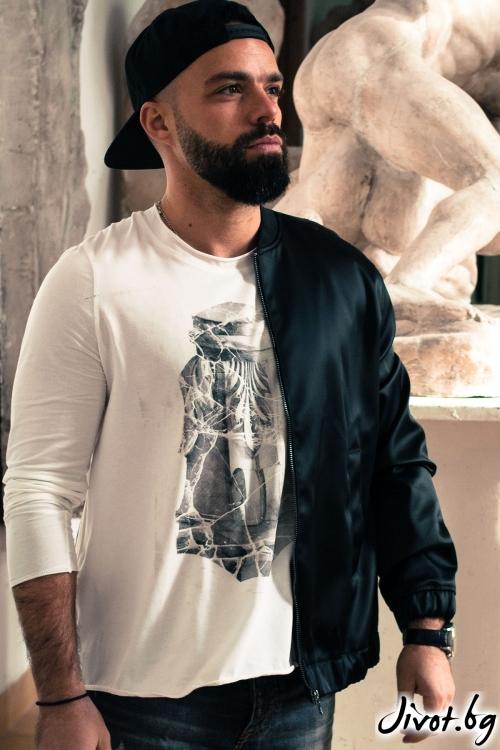 """Мъжка блуза """"Коринтски капител"""" / EGO Te Provoco"""