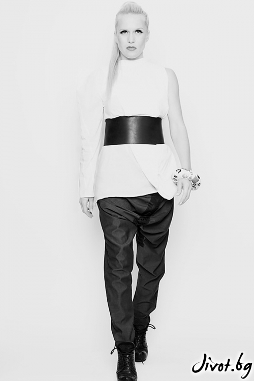 Памучна бяла риза / Maria Queen Maria