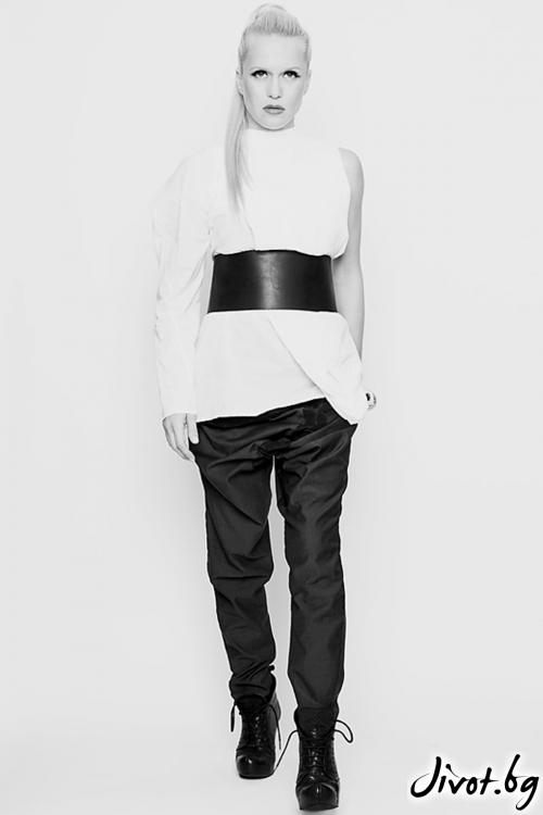 Дамски панталон със свободно дъно / Maria Queen Maria