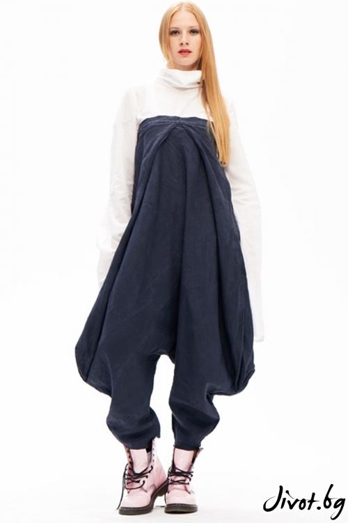 """Невероятен панталон / гащеризон """"подкова"""" / Maria Queen Maria"""